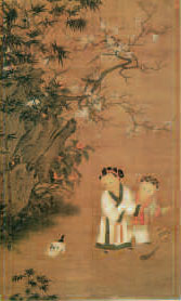 Su Hanchen, hanging scroll, Song Dynasty, National Palace Museum, Taiwan