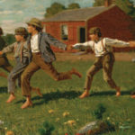 Winslow-Homer, Snap the Whip, 1872, Metropolitan Museum of Art