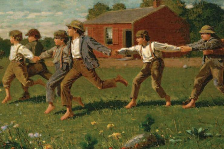 Winslow-Homer, Snap the Whip, 1872, Metropolitan Museum of Art