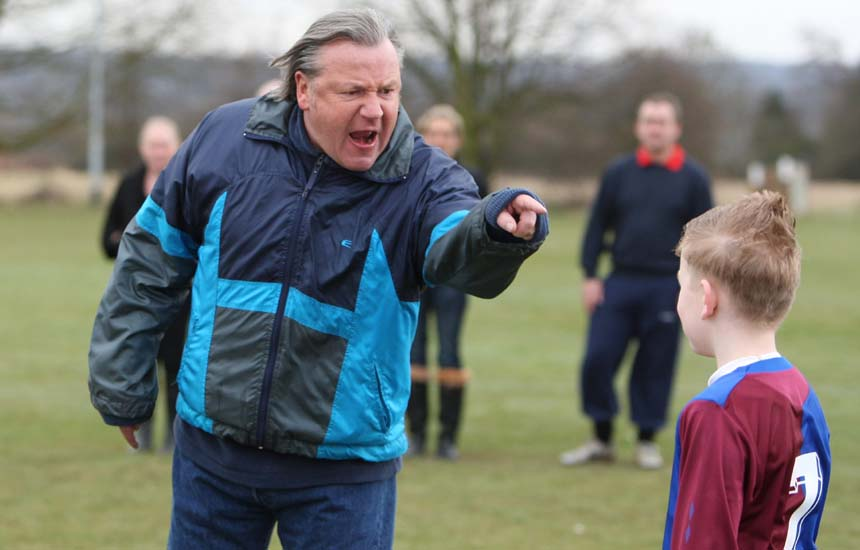 Photo by Lee Mills: Ray Winstone for Football Association via Getty Images