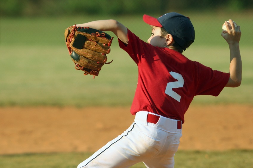 little league pitcher
